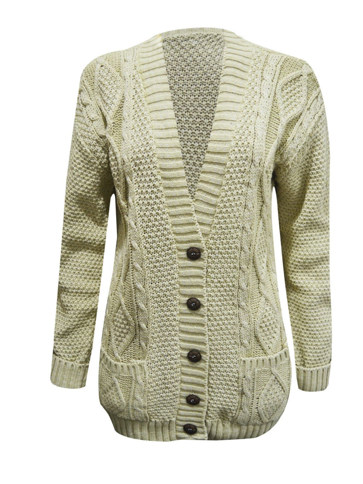 Womens Ladies Casual Cardigan Coat Tops Chunky Knitted Jacket Sweater Jumper USA. Brand New · Unbranded. $ Buy It Now. Free Shipping. SPONSORED. Women Chunky Cardigan High Neck Sweater Long Sleeve Loose Coat Tops Blouse Warm. $ Buy It Now. Free Shipping.