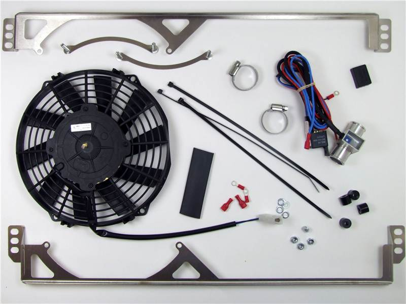 Electronic Cooling Fans : Revotec electronic cooling fan conversion kit triumph