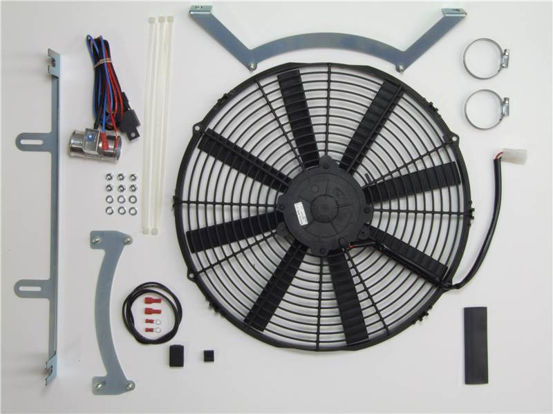 Electronic Cooling Fans : Revotec electronic cooling fan conversion kit jaguar e