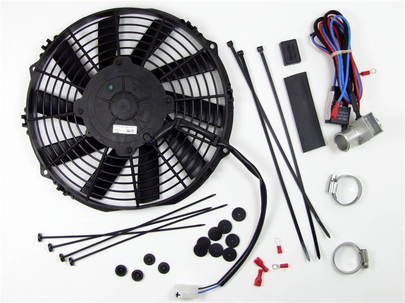 Electronic Cooling Fans : Revotec electronic cooling fan conversion kit mg midget