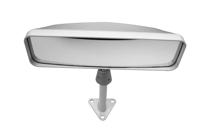 Lifeline sportscar interior rear view mirror convex glass white 75mm stem ebay for Interior rear view mirror replacement glass