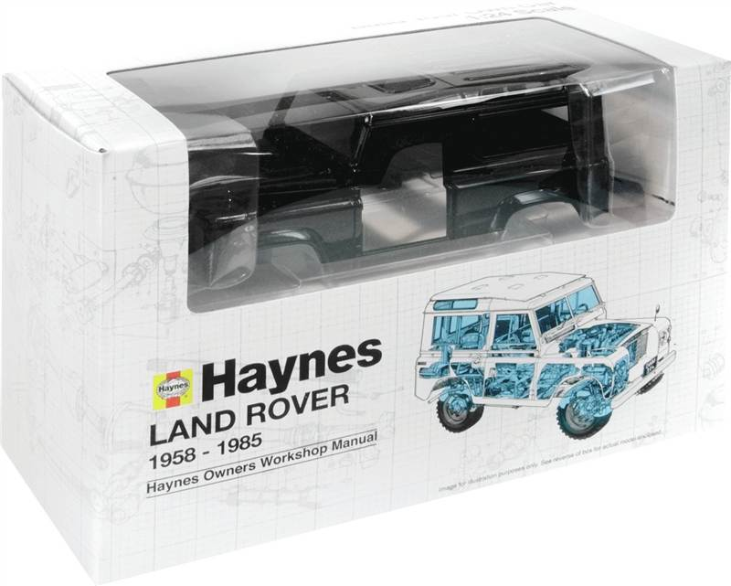 haynes build your own land rover defender model kit toy 1 24 scale great gift ebay. Black Bedroom Furniture Sets. Home Design Ideas