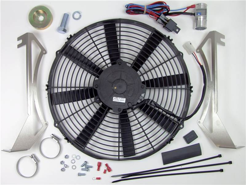 Electronic Cooling Fans : Revotec electronic cooling fan conversion kit triumph tr
