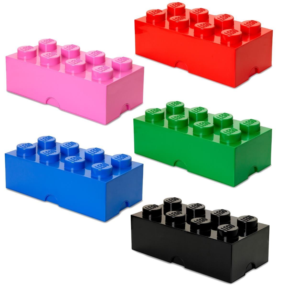 Lego stockage brique 8 blocs de construction meuble for Brick meuble francais