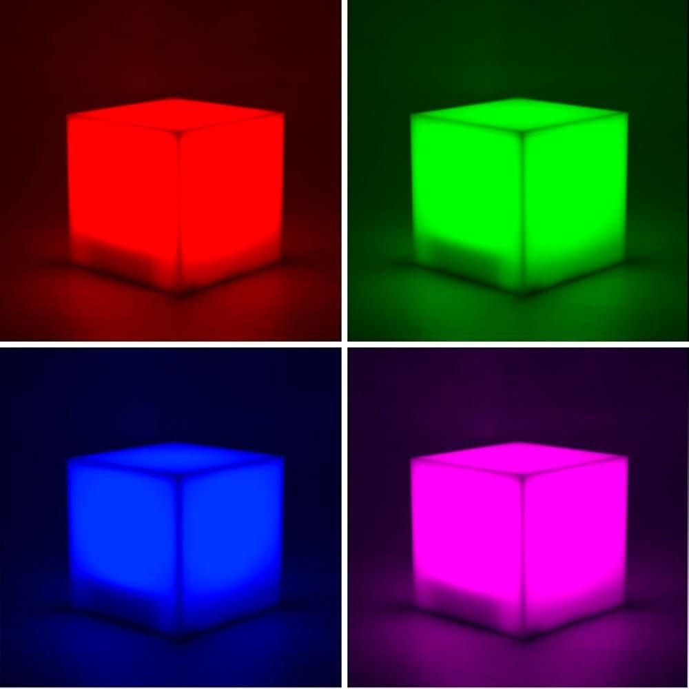 Mood Cube Colour Changing Led Desk Lamp Mood Light