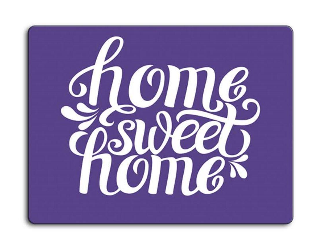 Home Sweet Home Lila Arbeitsplatte Sparer 40x30 Zerhackend Schneider ...