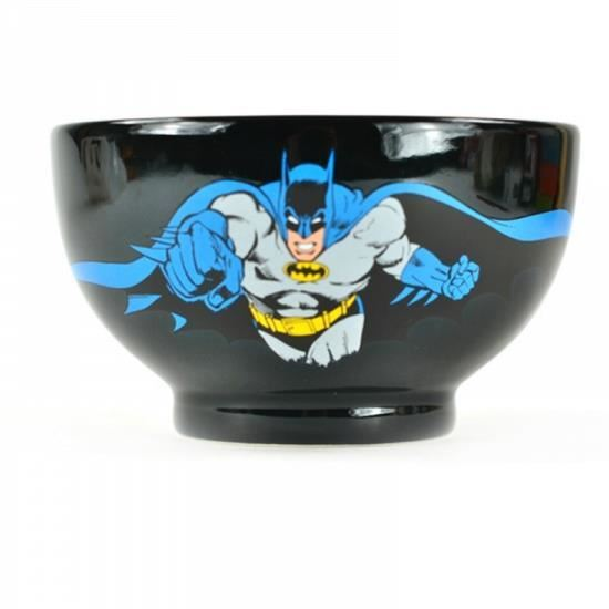 Batman spule dc comics schwarze keramik musli suppenteller for Spüle keramik