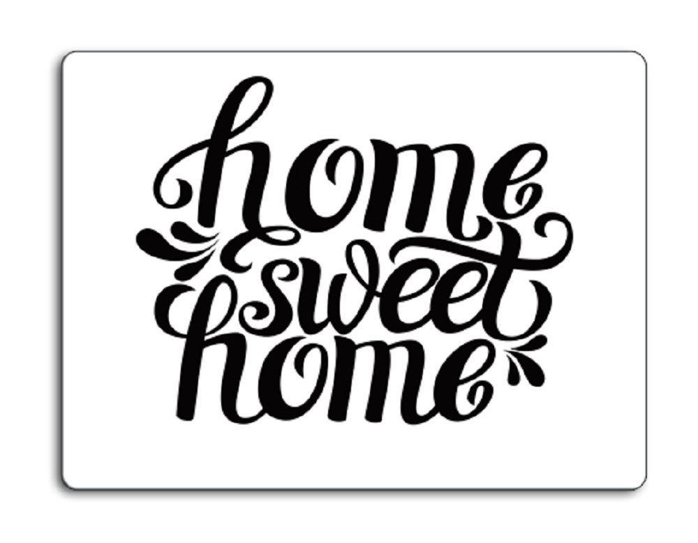 home sweet home blanc protection plan de travail 40x30 verre coupe d couper ebay. Black Bedroom Furniture Sets. Home Design Ideas