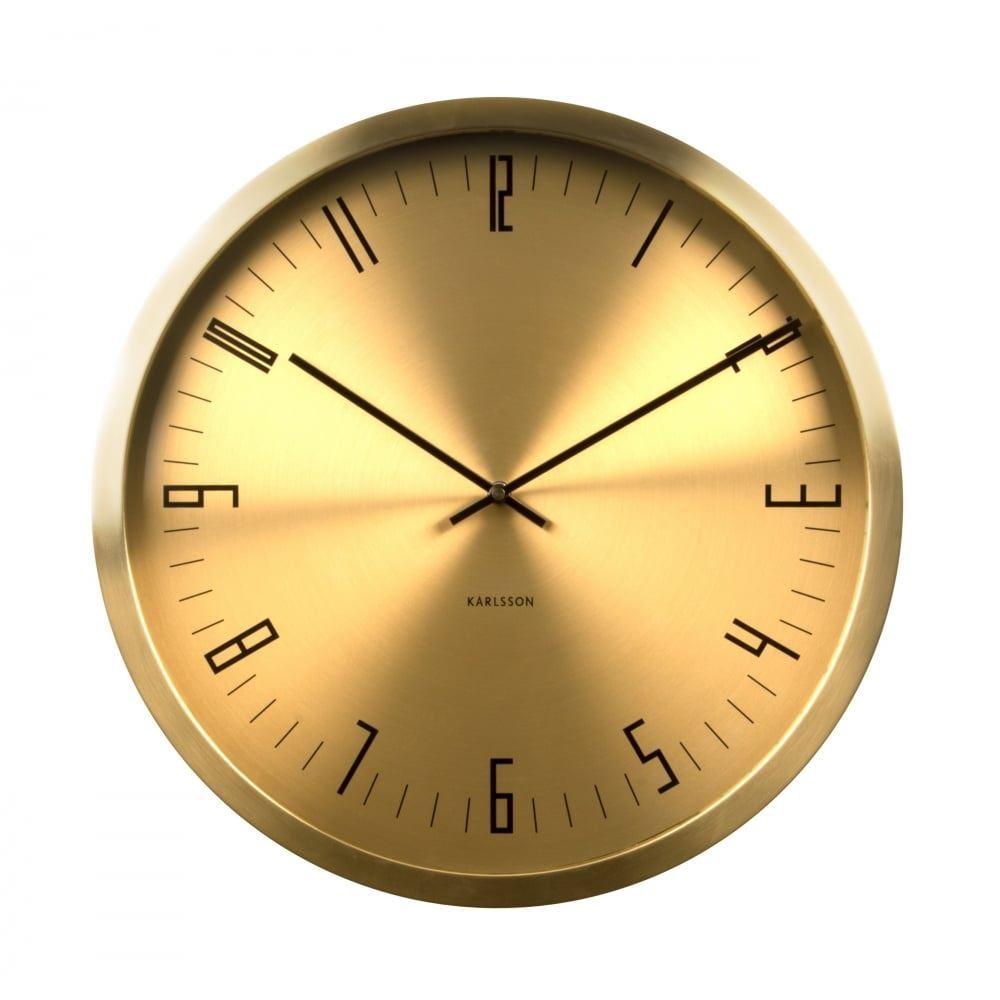 karlsson tub index analogue horloge murale dor designer uniques moderne ebay. Black Bedroom Furniture Sets. Home Design Ideas
