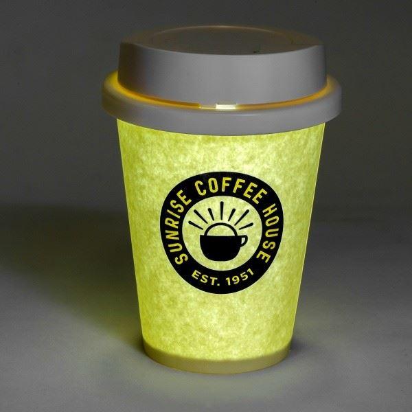 latte led nachtlicht kaffeetasse tee lampe becher tisch schlafzimmer beleuchtung. Black Bedroom Furniture Sets. Home Design Ideas
