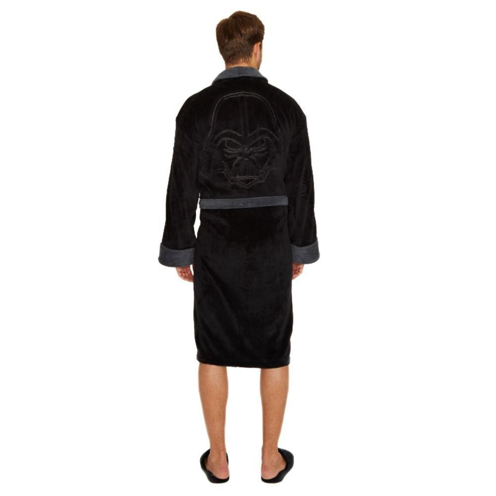 product star wars darth vader fleece dressing gown