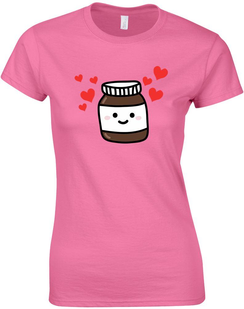 Nutella Ladies Printed T Shirt Ebay