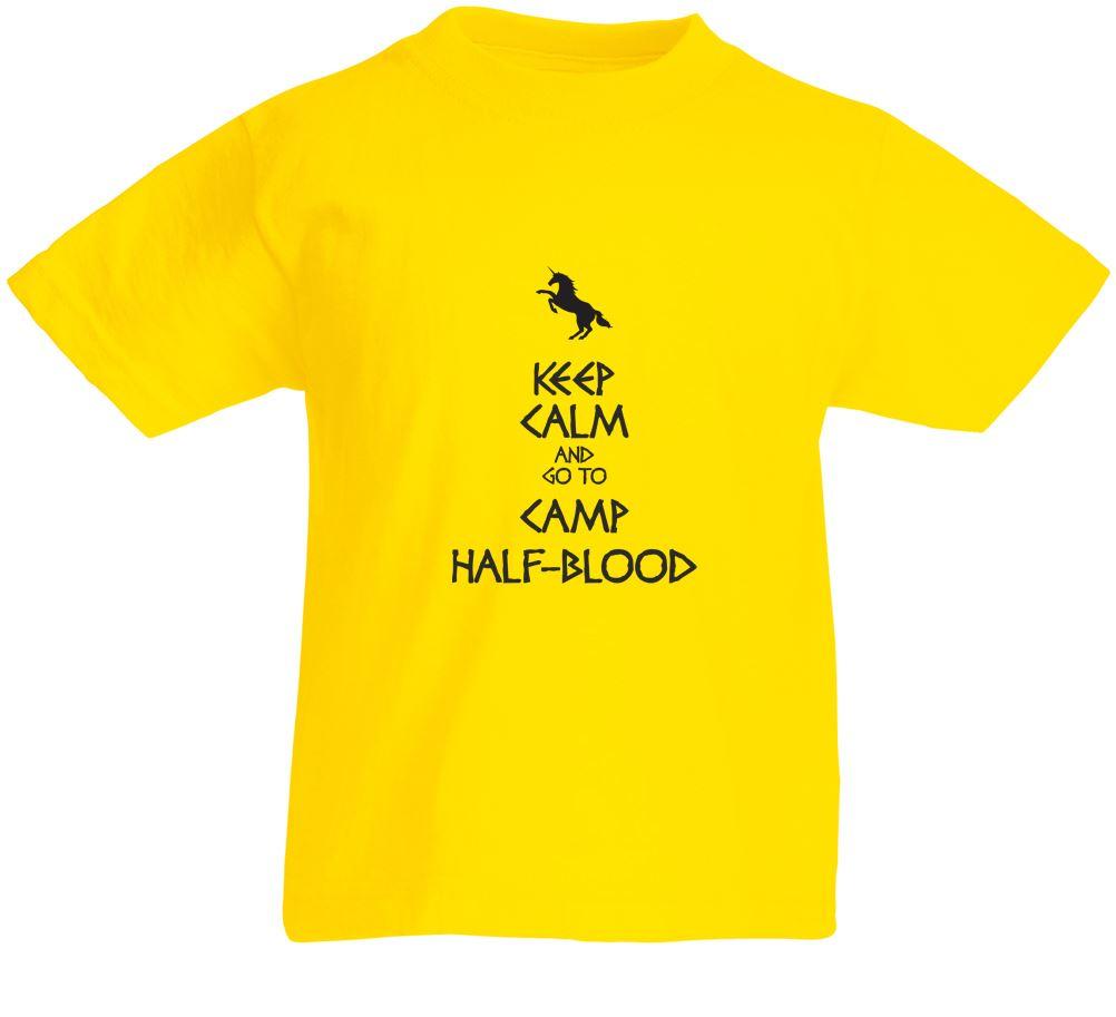 Keep Calm And Go To Camp Half-Blood, Kids Printed T-Shirt | eBay