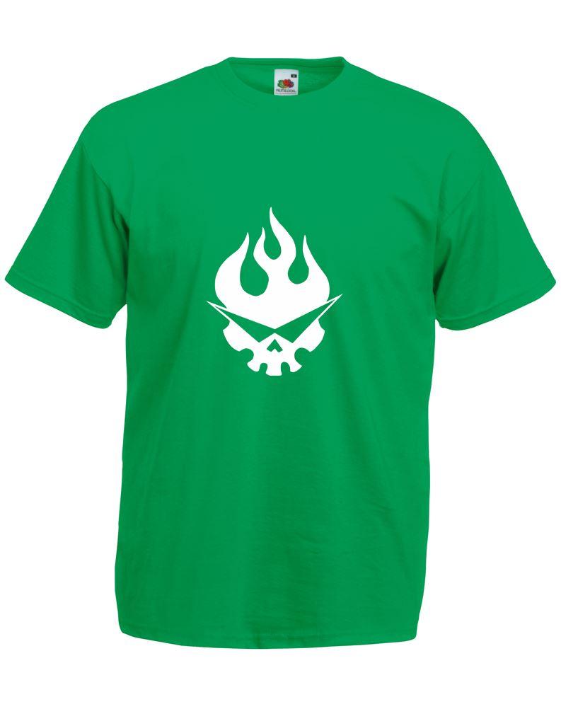 Team dai gurren logo mens printed t shirt for Team t shirt printing