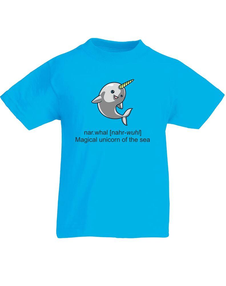 Narwhal Kids Printed T Shirt Ebay