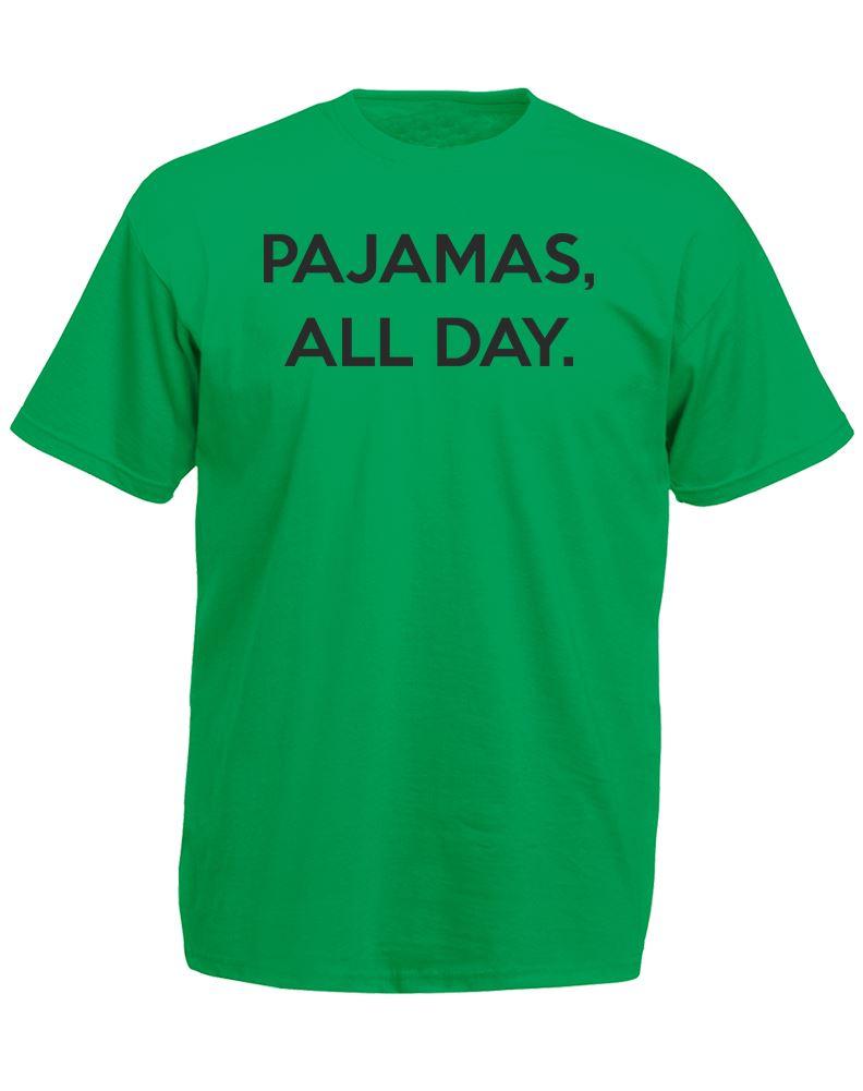 Pajamas All Day Mens Printed T Shirt Ebay