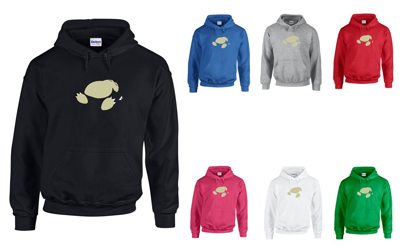 Snorlax hoodie