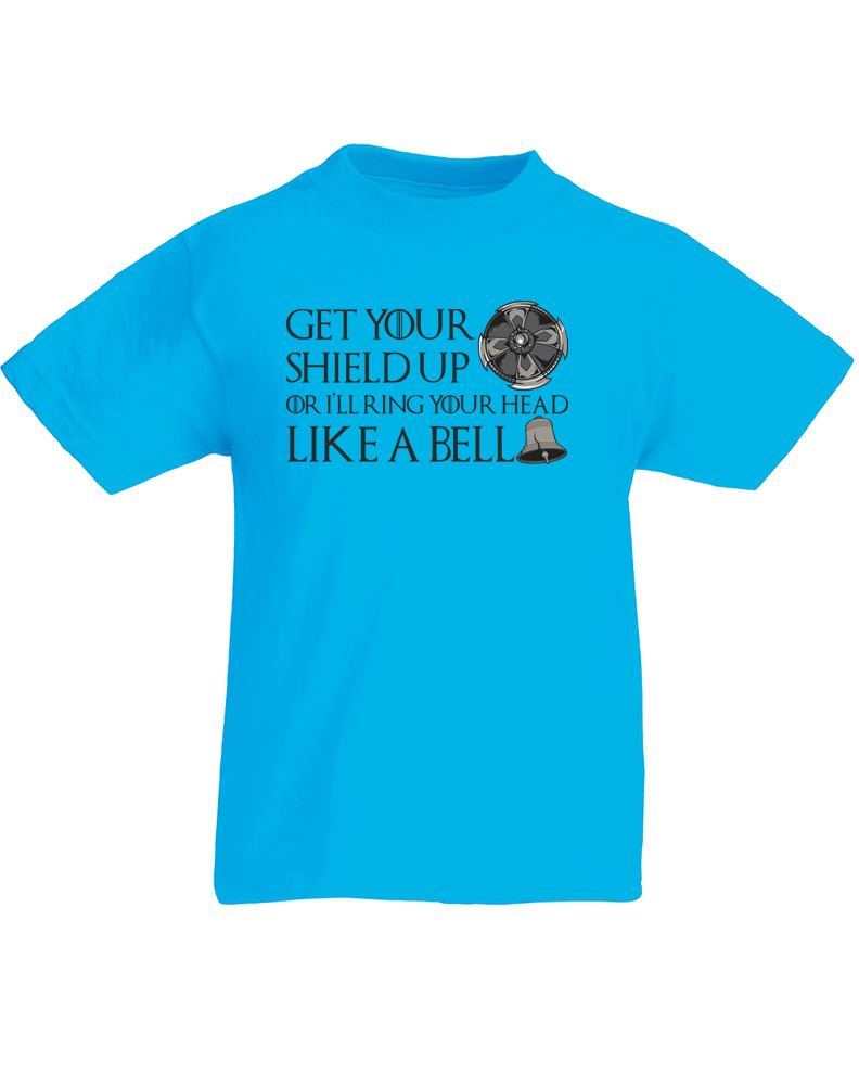 Get your shield up kids printed t shirt ebay for Get t shirts printed