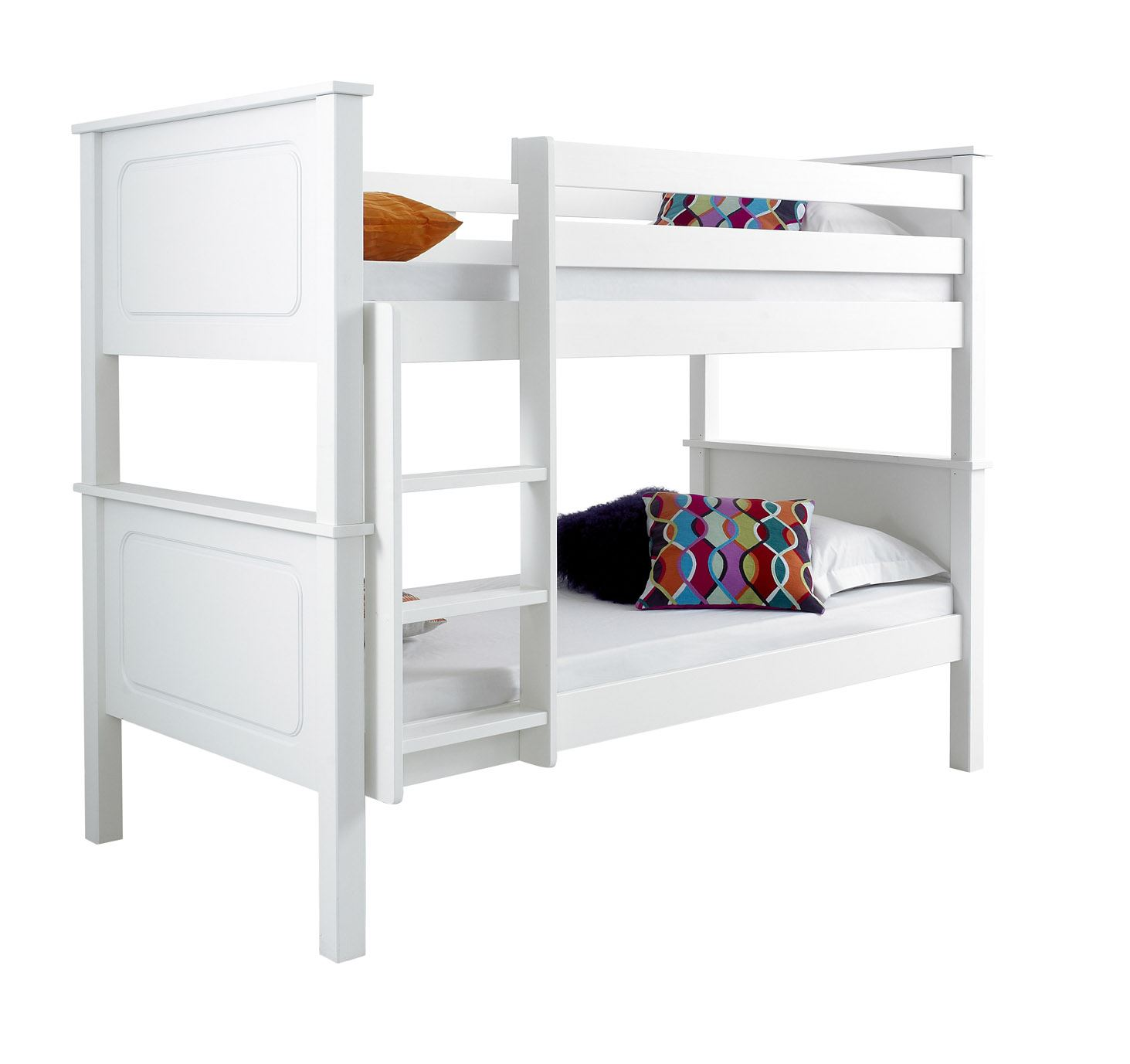 Happy beds vancouver solid wood pine bunk bed 3ft single for Beds vancouver