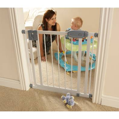 tippitoes extra narrow swing shut safety gate 61 87cm sg4. Black Bedroom Furniture Sets. Home Design Ideas