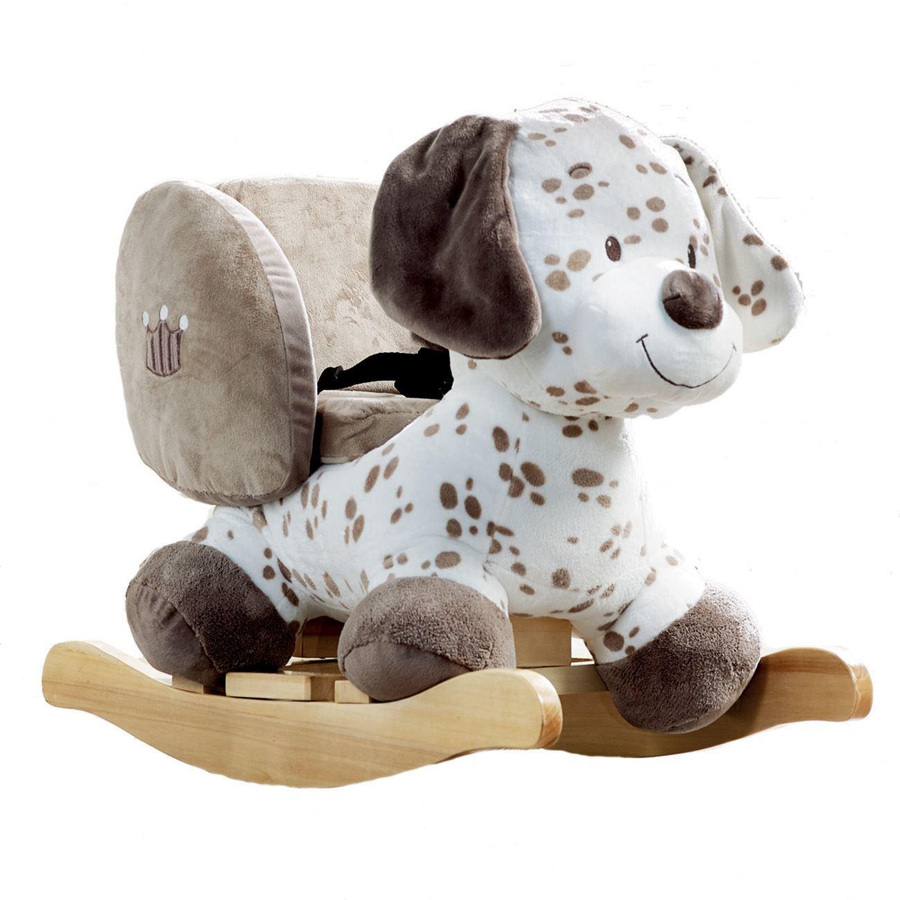 nattou animal rocker 10 36 months toddler ride on rocking. Black Bedroom Furniture Sets. Home Design Ideas