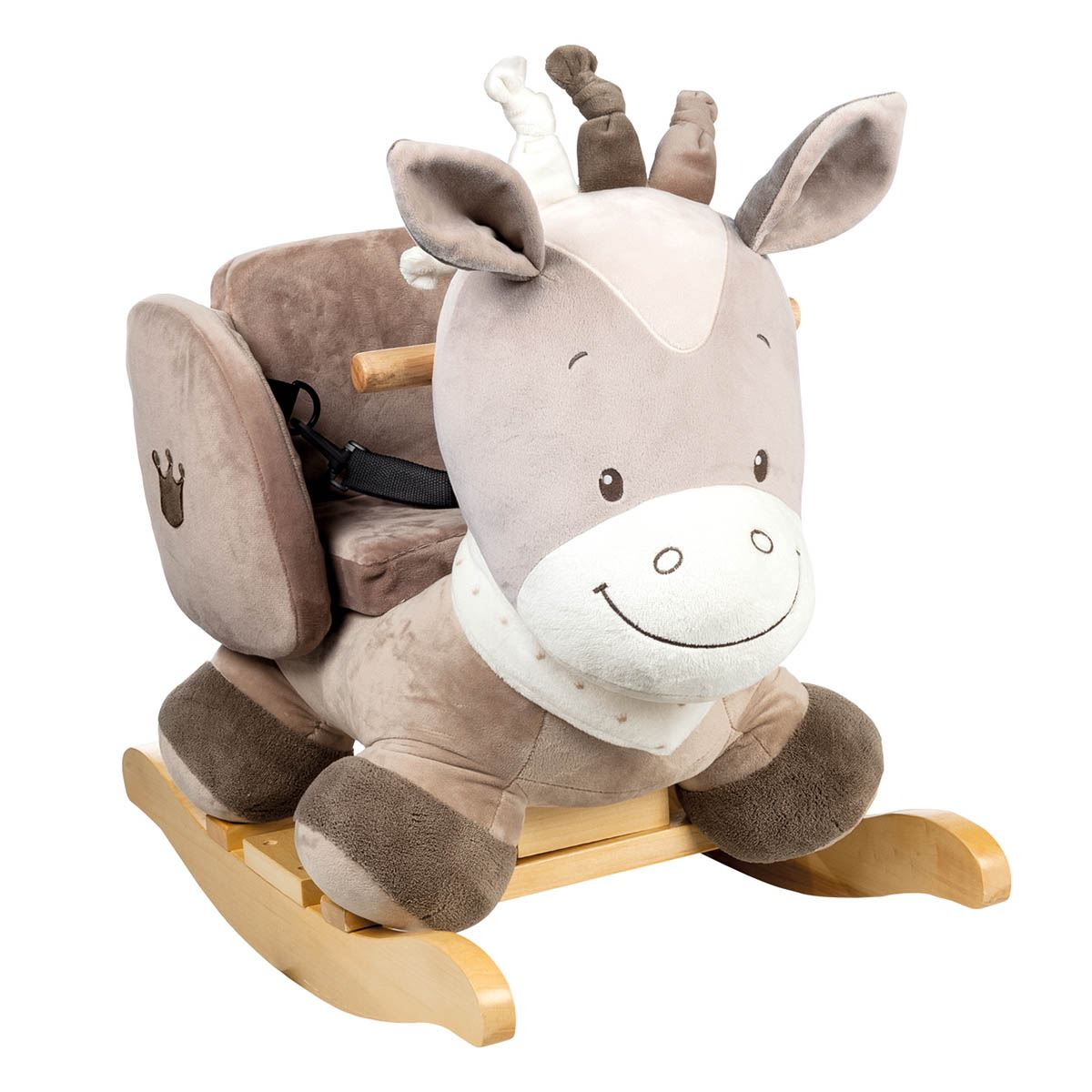 nattou animal rocker  months toddler ride on rocking horse  ebay - nattouanimalrockermonthstoddlerride