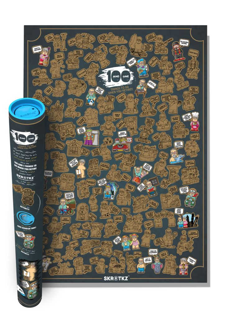 skratkz 101 things to do scratch off large interactive