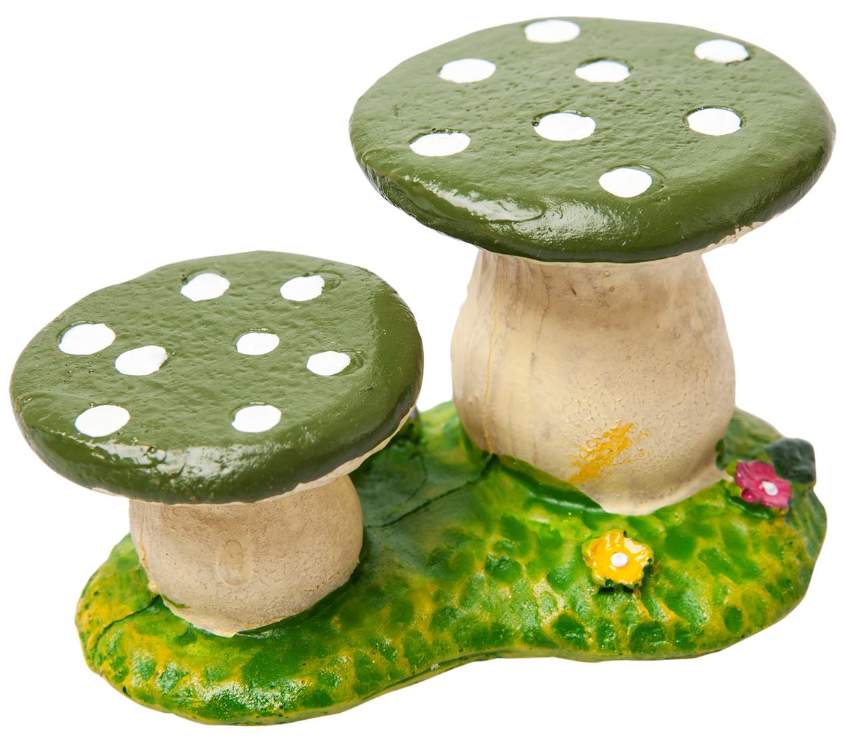 Miniature Fairy Garden Accessories Resin Toadstool Chairs Stool Ebay