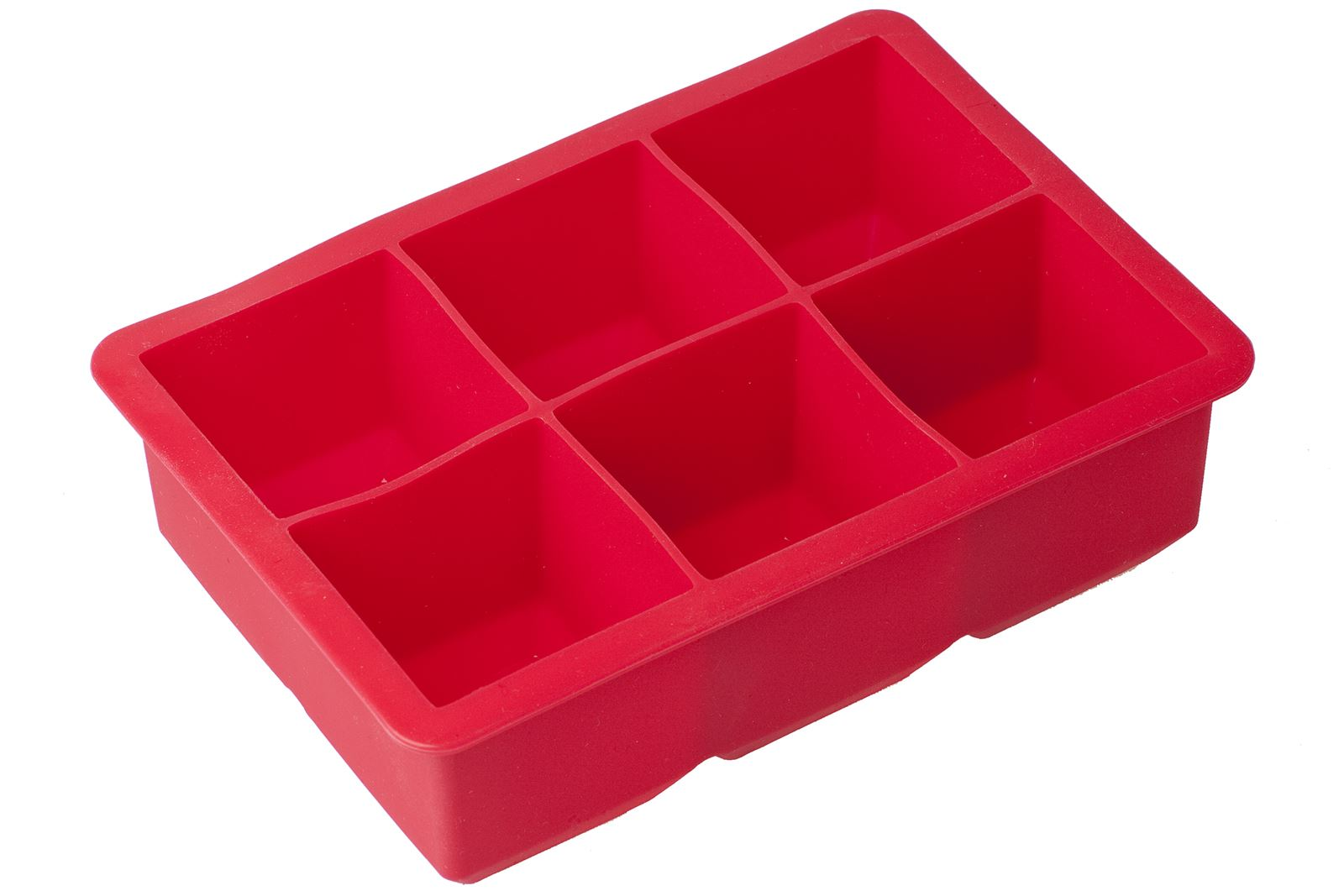 Silicone Ice Cube Tray Large Mould Mold Giant Ice Cubes Square UK
