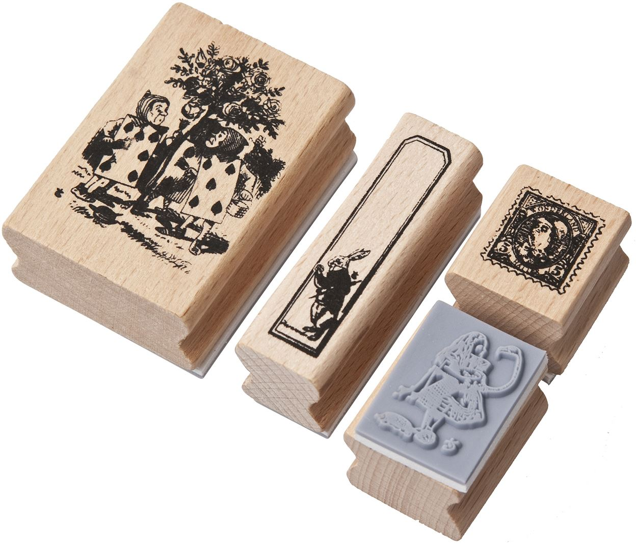 Alice in Wonderland Vintage Rubber Stamps Scrapbook ...