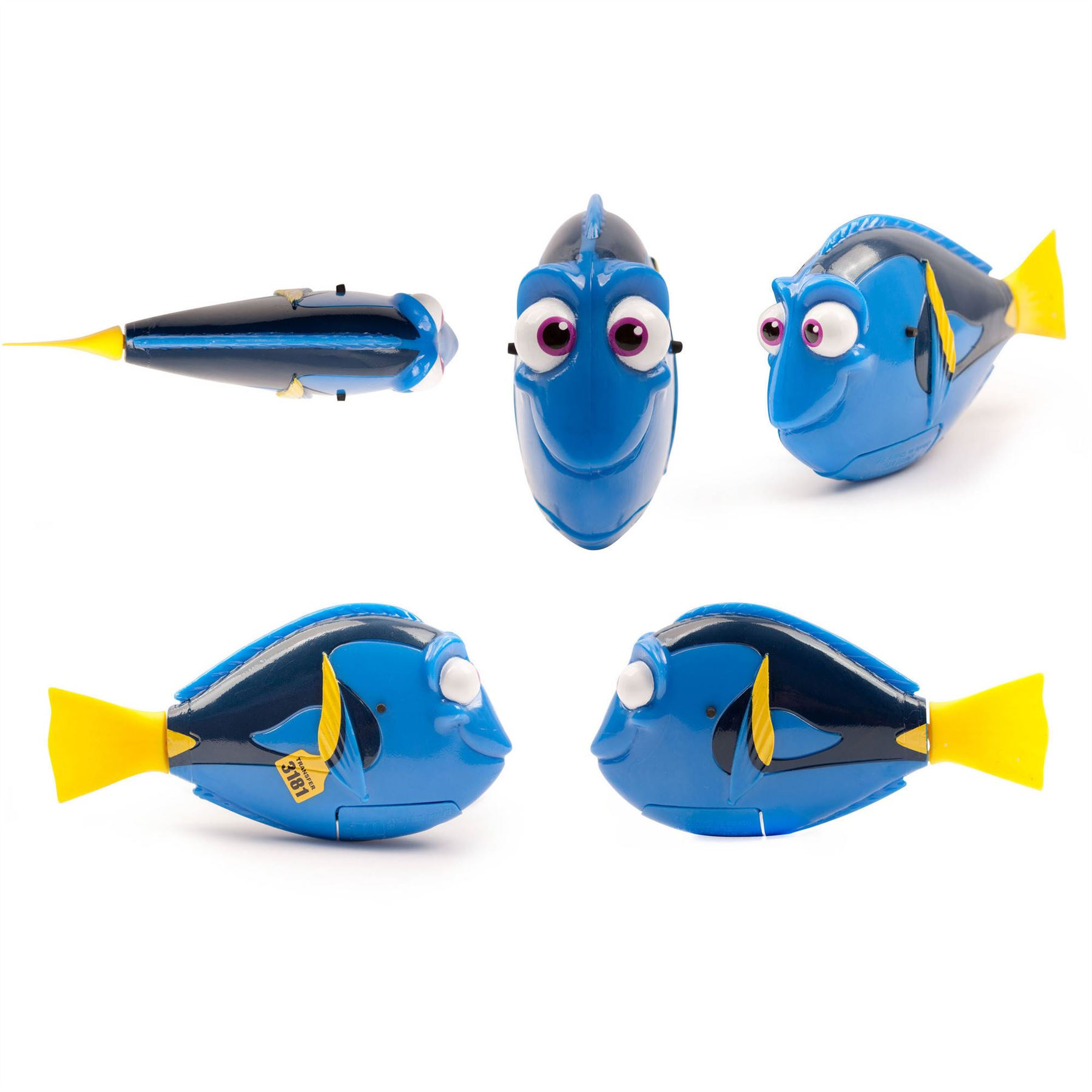 Disney official finding dory nemo zuru robo fish swimming for Zuru robo fish
