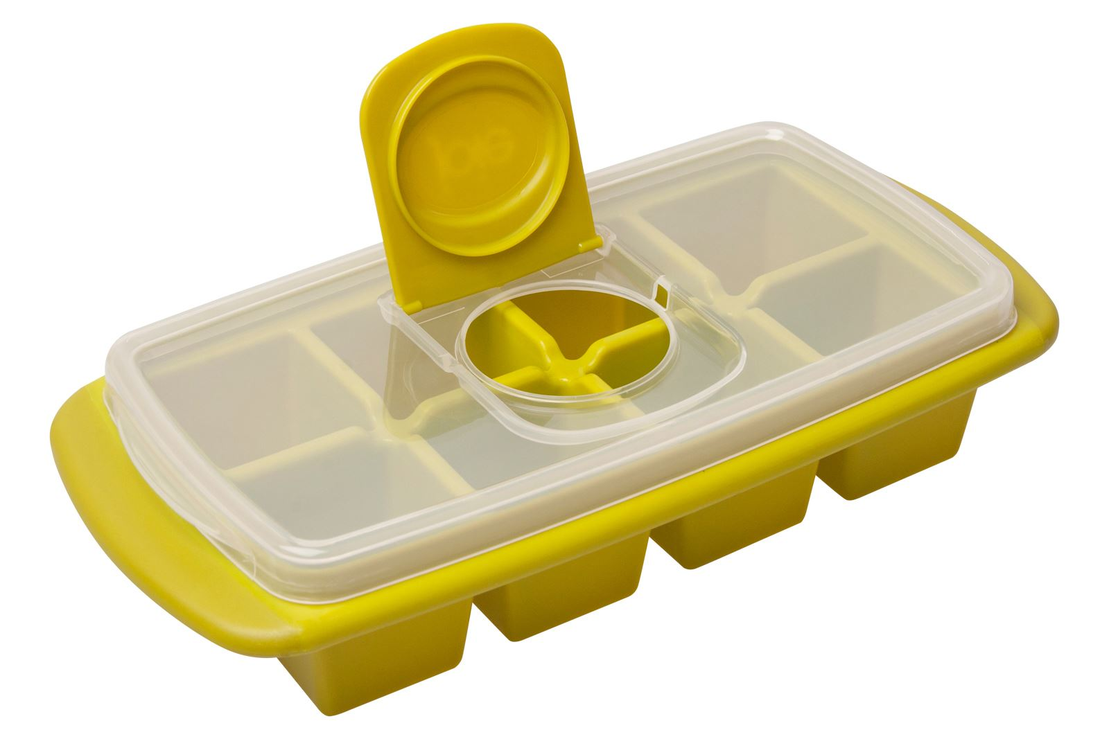 Ice cube trays with lids