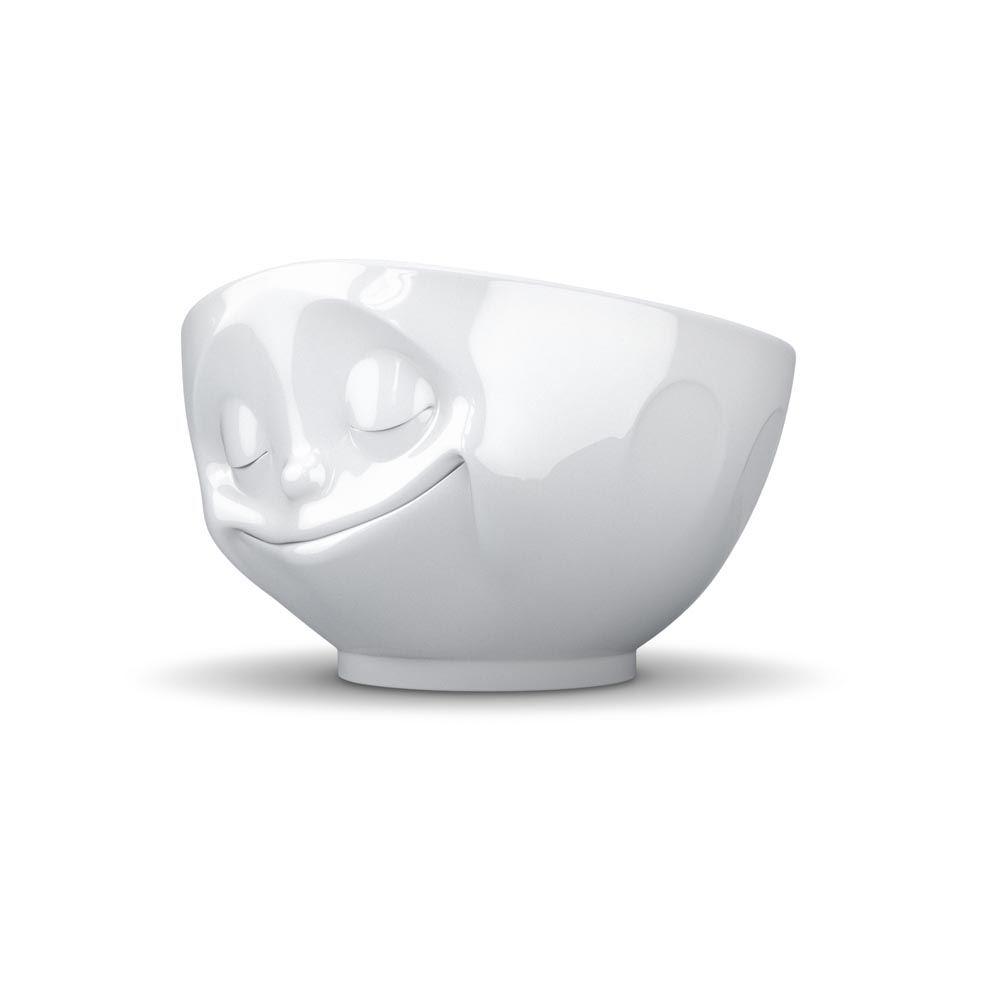 Tassen Face : Tassen face bowls white porcelain with grinning kissing