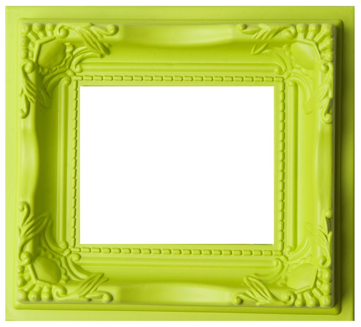 Ornate Magnetic Photo Frame 4 Colours Perspex Cover Picture Drawings Display Art