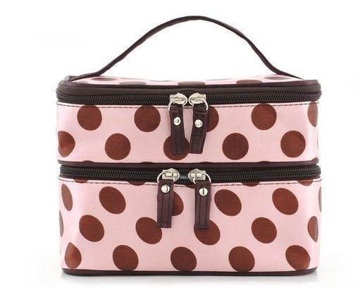 Neu Damen Kosmetik Tasche Sack tragbar Reise Schönheit Kulturbeutel
