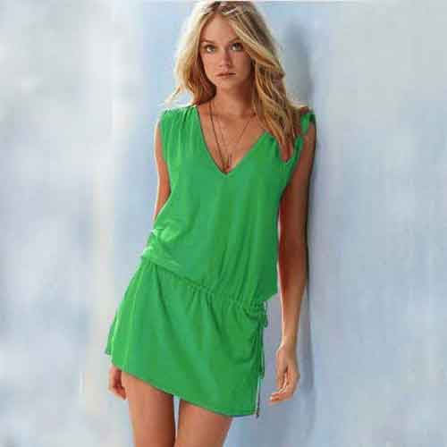 Bikini Cover Up Dress Kaftan Beach Swim Wear Wrap Sarong Style Fashion Free Size