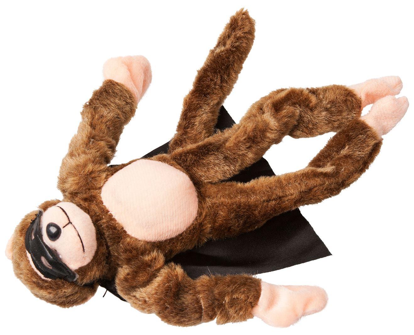 Flying Animal Plush Monkey Pig Cow Frog Chicken Fly Screaming Slingshot Catapult