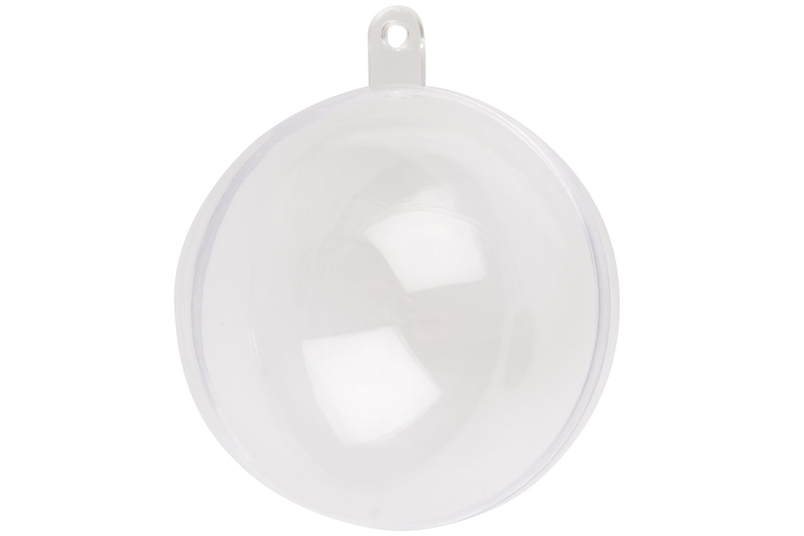 Clear Plastic Craft Baubles