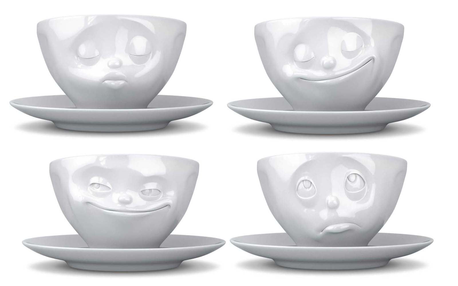 Tassen Uk : Tassen coffee cup saucer mug grinning kissing happy face