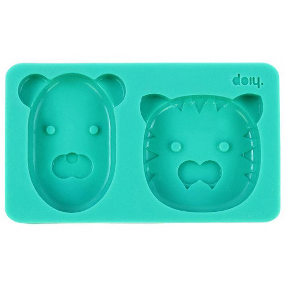 ice lolly moulds frozen popsicle wild animals tiger bear. Black Bedroom Furniture Sets. Home Design Ideas