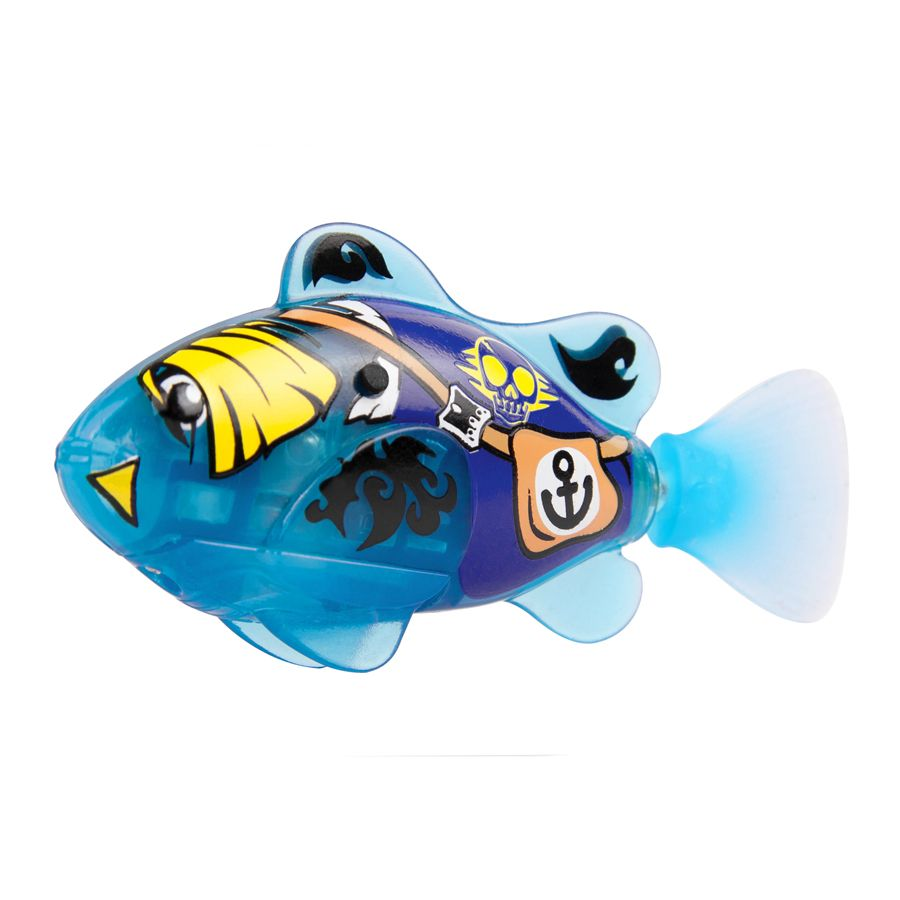Water activated pirate robo fish ebay for Robo fish toy
