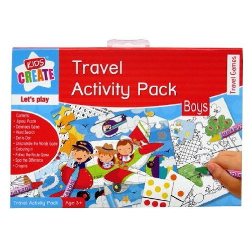 Top Travel Toys Games For Kids : Travel activity pack boys girls kids best for holiday game