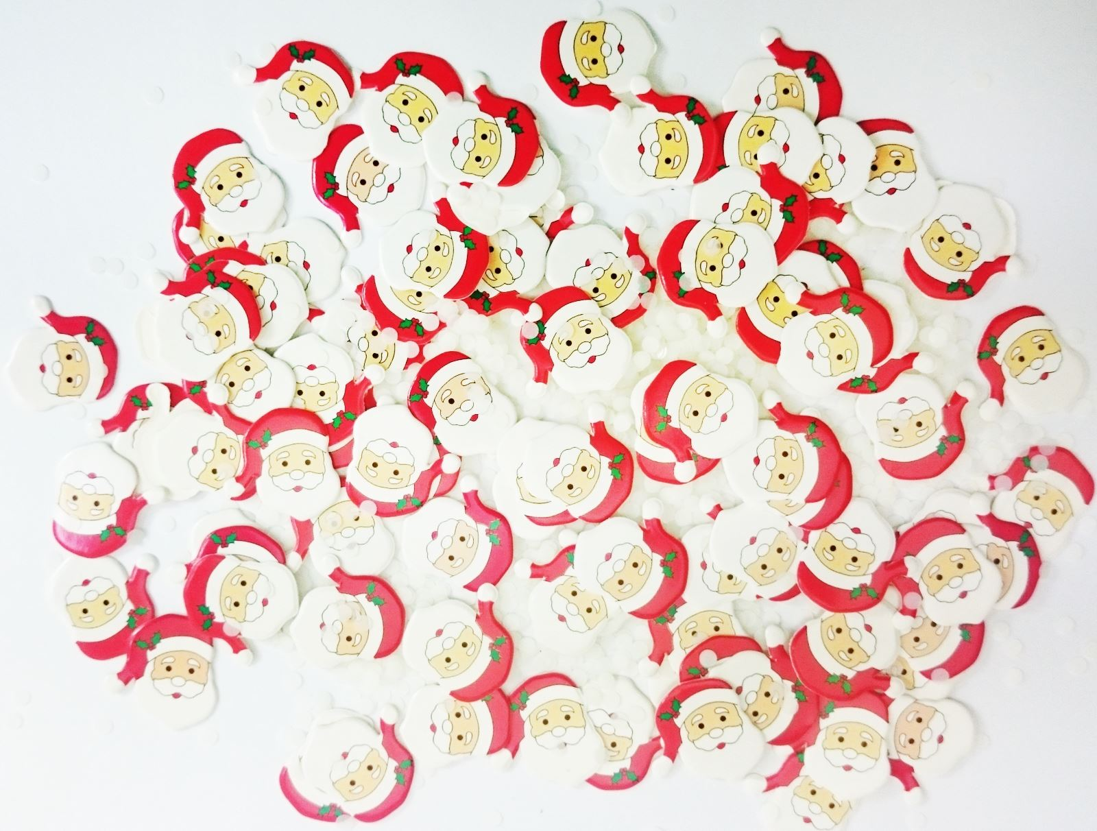 Luxury Christmas Confetti Party Home Tableware Decoration