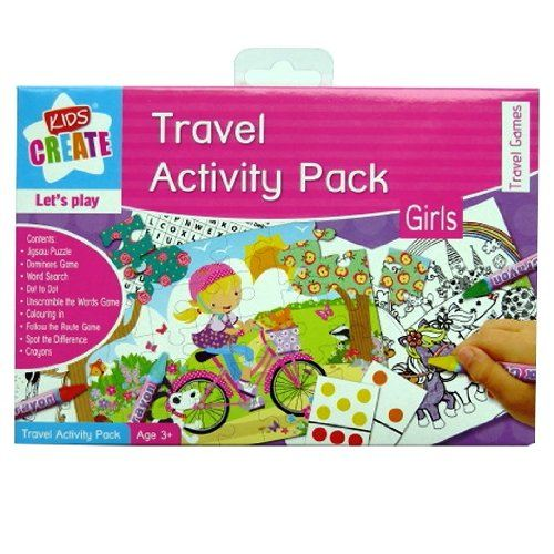 travel activity pack boys girls kids best for holiday game