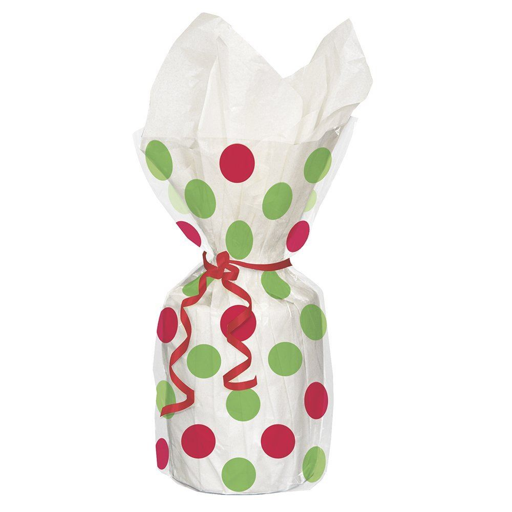 Christmas party loot cello gift sweet cellophane treat bag
