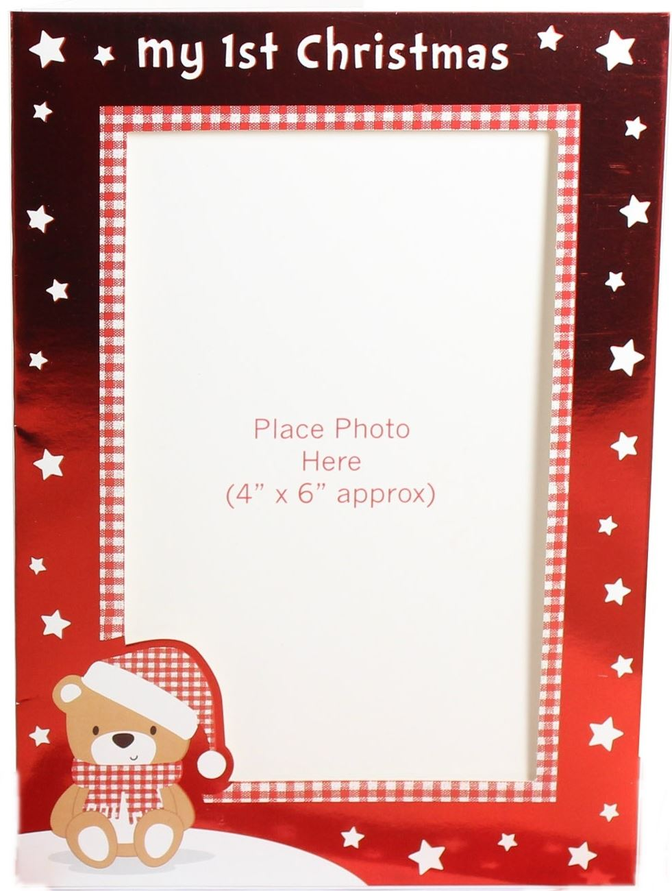 free baby first christmas photo frame