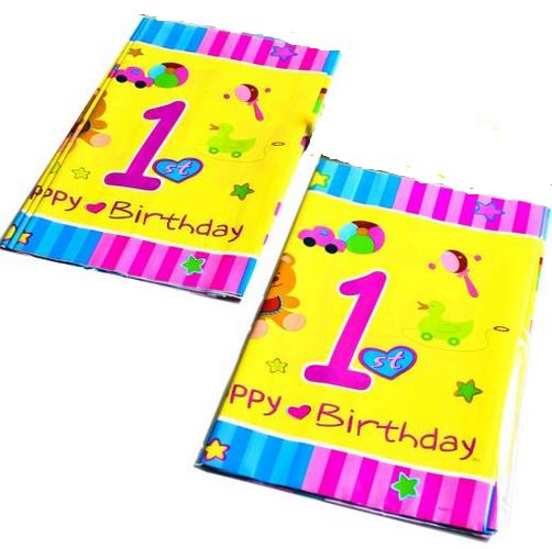 1st Birthday Party Set Table Ware Decoration Boy Girl Kid