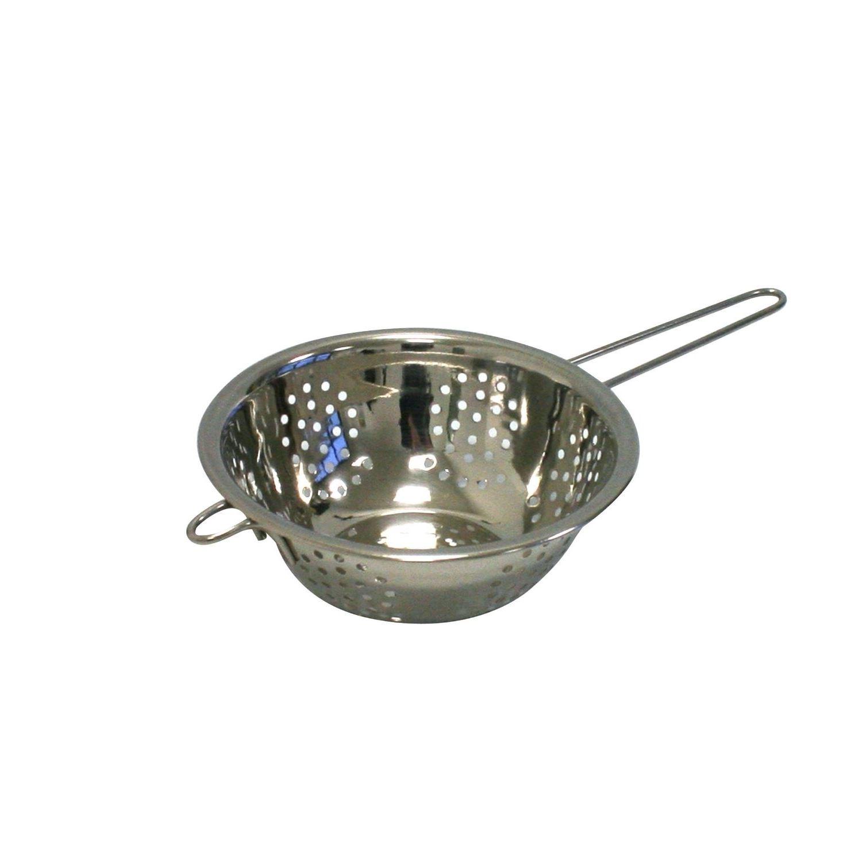 Stainless steel colander drainer sieve pasta salad