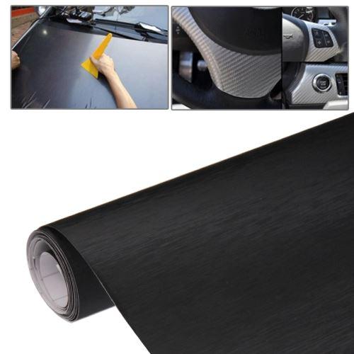 Vinilo adhesivo aluminio cepillado pegatina adhesiva para for Vinilo adhesivo coche