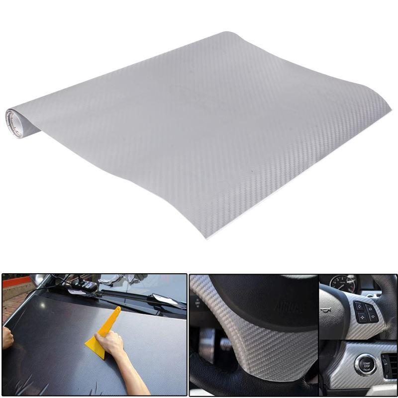 Vinilo decorativo fibra de carbono relieve adhesivo coche for Vinilo adhesivo coche